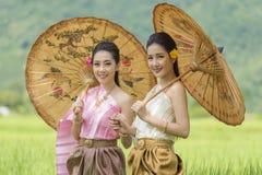 thai flicka Arkivbild