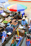 Thai Floating Market Royalty Free Stock Photo