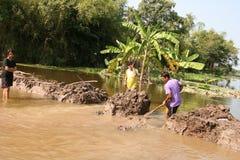 thai flod 03 Arkivfoton