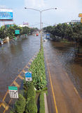 Thai Flood Stock Photography