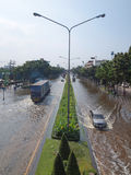 Thai Flood Royalty Free Stock Photography