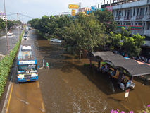 Thai Flood Royalty Free Stock Photo
