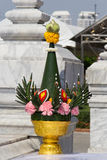 Thai Flower composition Royalty Free Stock Photo