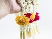 Thai Flower Garland Stock Images