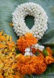 Thai flower garland Royalty Free Stock Photos