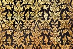 Thai flower pattern stock photos
