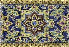 Thai Flower vintage pattern background Royalty Free Stock Photos