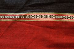 Thai folk textile Royalty Free Stock Photography