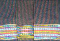 Thai folk textile Royalty Free Stock Photography