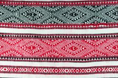 Thai folk textile north style Royalty Free Stock Photography