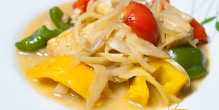 Thai food. Sweet and sour stir fry Royalty Free Stock Images