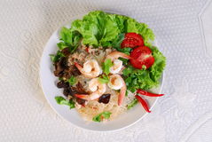 Thai Food. Image of Thai food - spicy salad stock photography