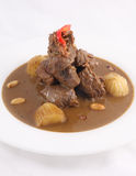 Thai food, Beef massaman curry Stock Photography