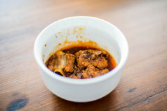 Thai food,Beef or pork mussaman curry Royalty Free Stock Photography