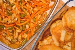 Thai food bowl Stock Image
