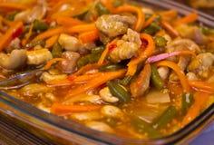 Thai food bowl Royalty Free Stock Images