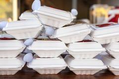 Thai food in box Stock Photo