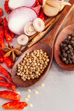 Thai food Cooking ingredients. Stock Photo