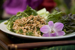 Thai Food Dishes Royalty Free Stock Images