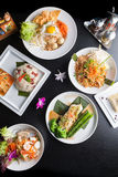 Thai Food Dishes Stock Photos