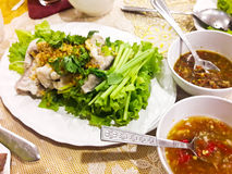 Thai food fish boil Royalty Free Stock Image