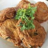 Thai food. Thai fish cake Royalty Free Stock Images