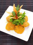 Thai Food Fish Cake (Tod Mun Pla) Stock Image