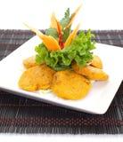 Thai Food Fish Cake. (Tod Mun Pla royalty free stock image