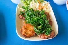 Thai Food Fish Cake (Tod Mun Pla) Royalty Free Stock Image