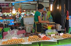 Free Thai Food For Sale, Thailand Stock Image - 110269701