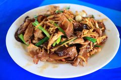 Thai food fried pork with ginger Stock Photography