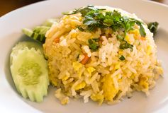 Thai food fried rice Stock Photo