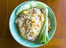 Thai food fried rice Royalty Free Stock Photo