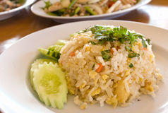 Thai Food Fried Rice Royalty Free Stock Image