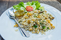 Thai food fried rice on plate Stock Photography
