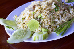 Thai food, Fried rice Stock Images