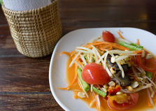 Thai food healthy diet Royalty Free Stock Photos