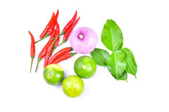 Thai food ingredients Royalty Free Stock Photography