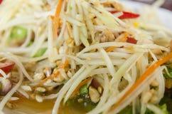 Thai Food. Ingredients of papaya salad Stock Photography