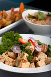 Thai Food and Jasmine Rice Royalty Free Stock Photo