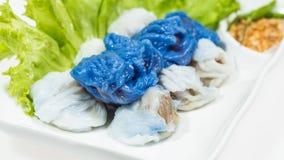 Thai food Kao Kriab Pak Moh Stock Photos