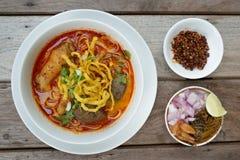 Thai food, Kao Soi Kai Stock Images