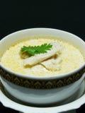 Thai food menu, tom kha gai Royalty Free Stock Image