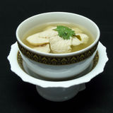 Thai food menu, tom yum gai Stock Photography
