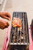 thai food, Moo ping Stock Image