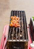 thai food, Moo ping Stock Photo
