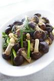 Thai food from mushroom Stock Image