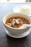 Thai food mussaman curry Stock Image