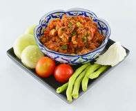 Thai food ,Nam Pik Aoung , chili sauce Stock Photography