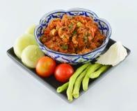 Thai food ,Nam Pik Aoung , chili sauce Stock Photography